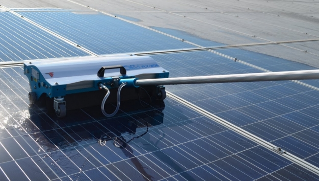 Pulizia pannelli fotovoltaici - Ponte Marzio