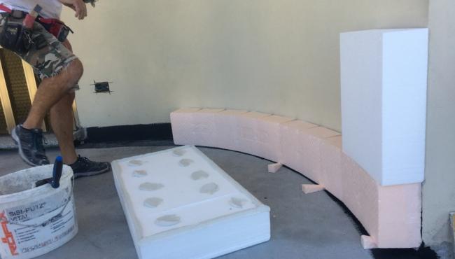 Isolamento termico a cappotto - Ponte Marzio